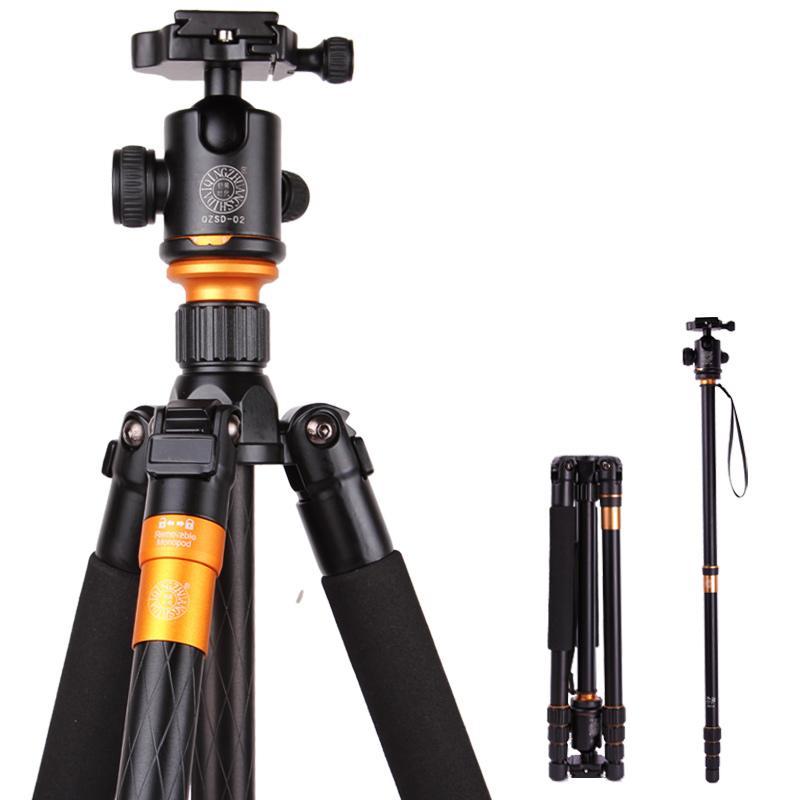 轻装时代Q999三脚架单反照相机三角架云台独脚支架便携摄影