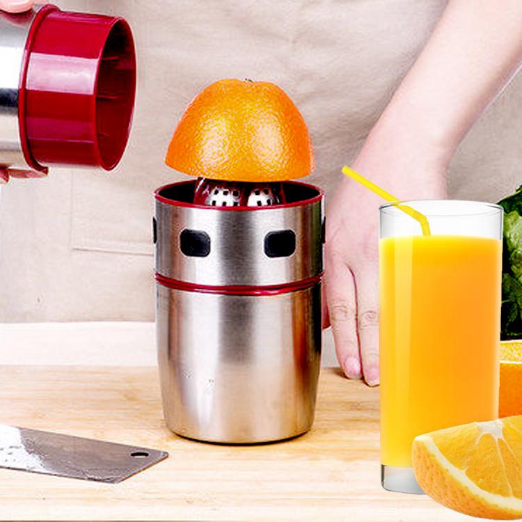 手压式榨汁机橙汁榨汁机手动榨果汁机不锈钢水果语柠檬压榨果汁机