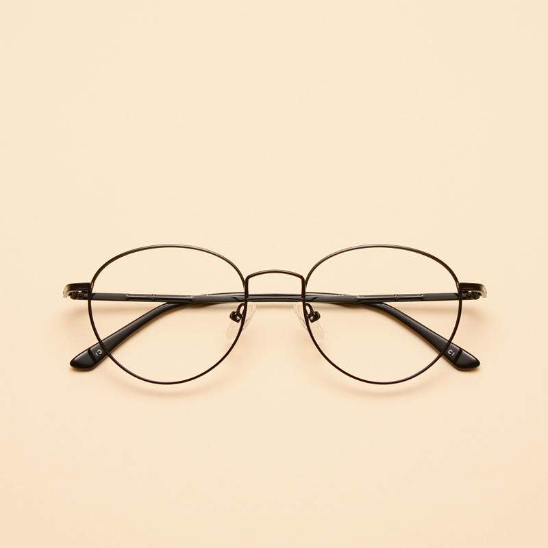 圆眼镜文艺男头像