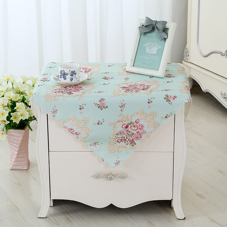 Manufacturers Selling Cloth Square Towel With A Small Tablecloth Microwave  Computer Bedside Cabinet Cover Cloth Cover Towel ...