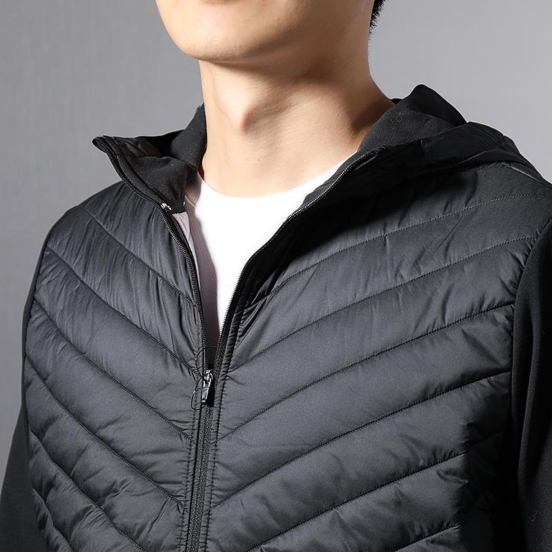 NIKE耐克男装2018冬季新款男士运动棉服连帽保暖羽绒服AH0545-010