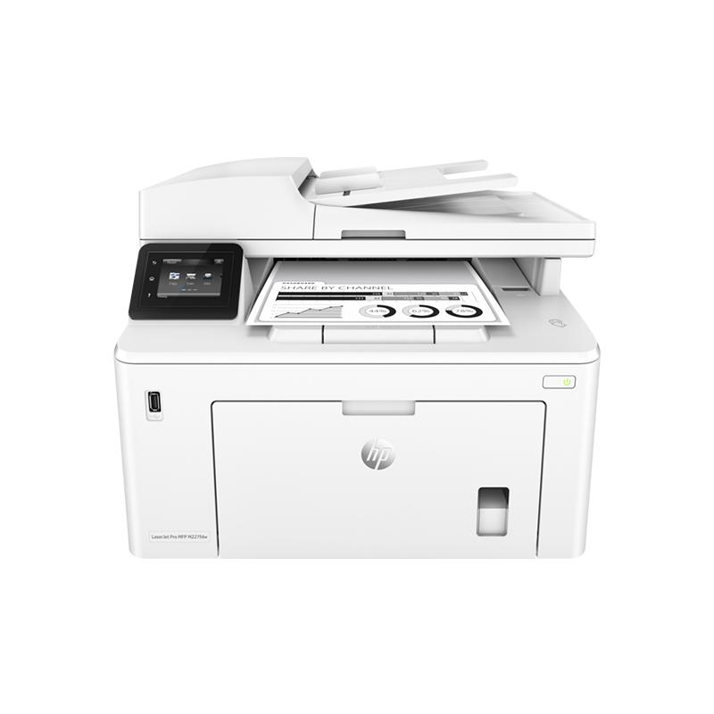 hp惠普M227FDW黑白无线wifi激光双面打印复印扫描传真一体机办公