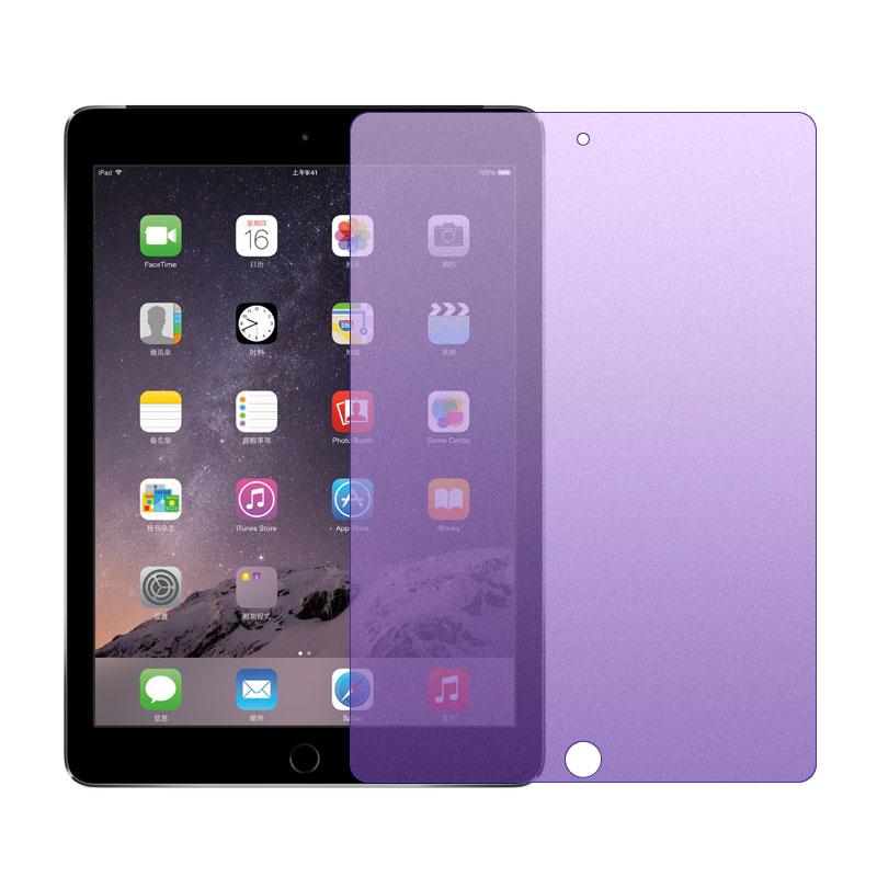 ipad air2钢化膜2018新款2017苹果mini2-3-4平板电脑pro 9.7寸10.5寸磨砂蓝光保护膜apple迷你防指纹贴膜防摔
