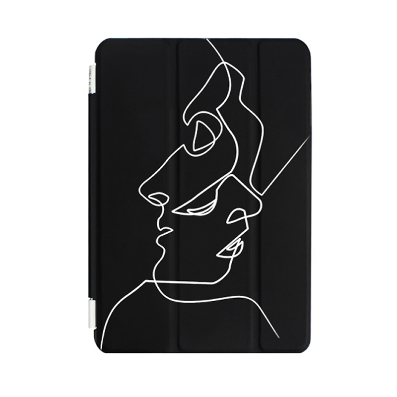 2018iPad2017新款mini4保护1迷你2苹果Pro9.7英寸air3平板电脑6套10.5文艺创意超薄全包边日韩简约个性壳
