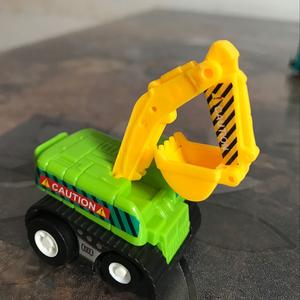 儿童挖掘机玩具车男孩合金小汽车耐摔惯性工程推土机套装益智