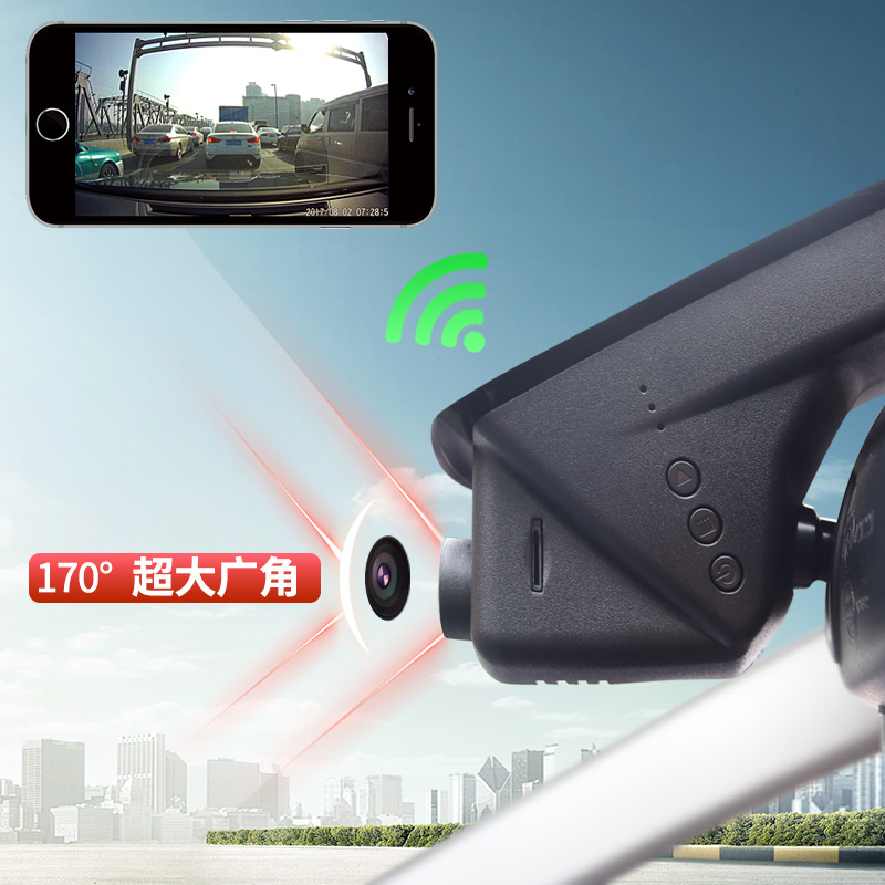 宝马3系行车记录仪1系5系7系3gt-X1-X3X4-X5X6隐藏式高清夜视专用