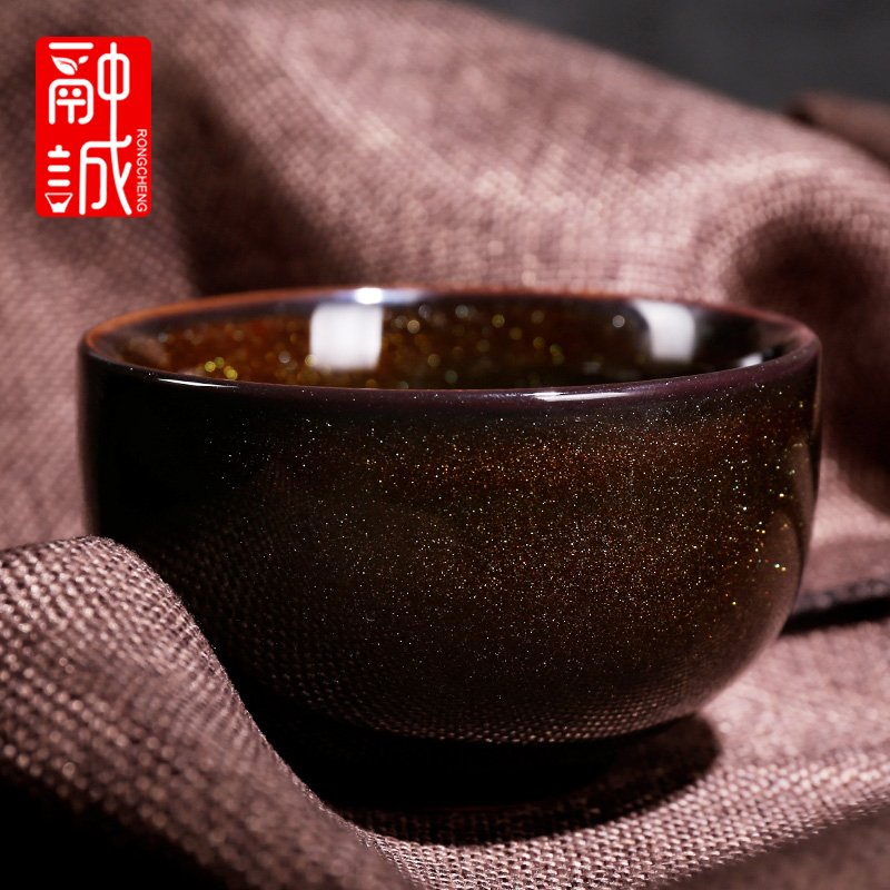 Tea up, ceramic cups built large lamp that kung fu master cup single CPU cups porcelain bowl sample Tea cup cup