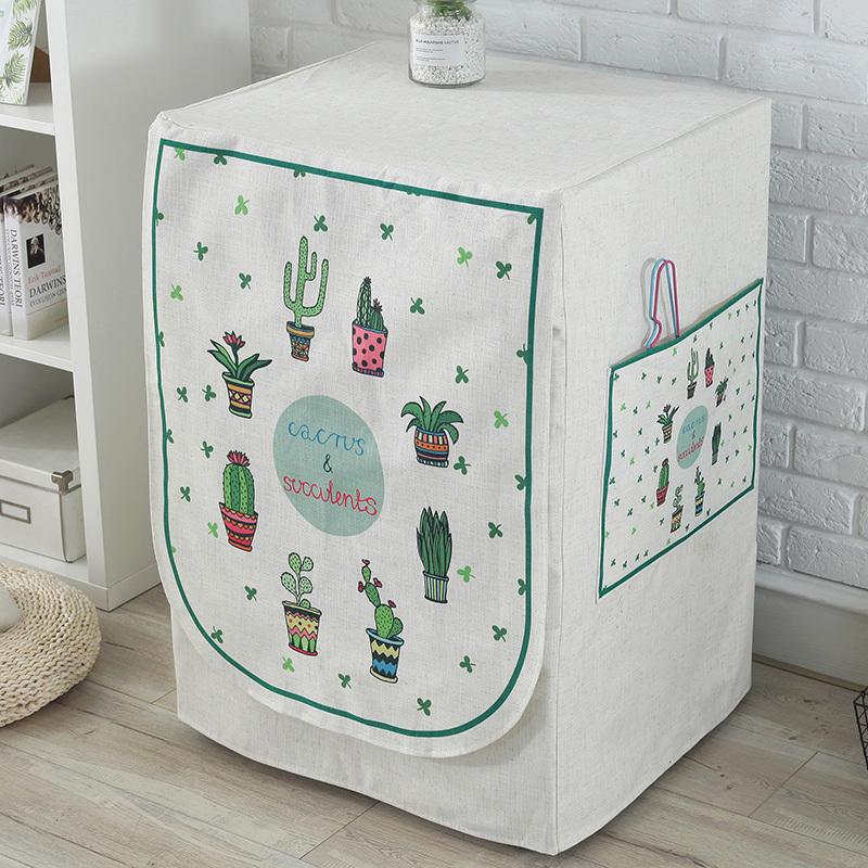 滚筒洗衣机罩海尔小天鹅全自动洗衣机防晒防水罩套松下西门子