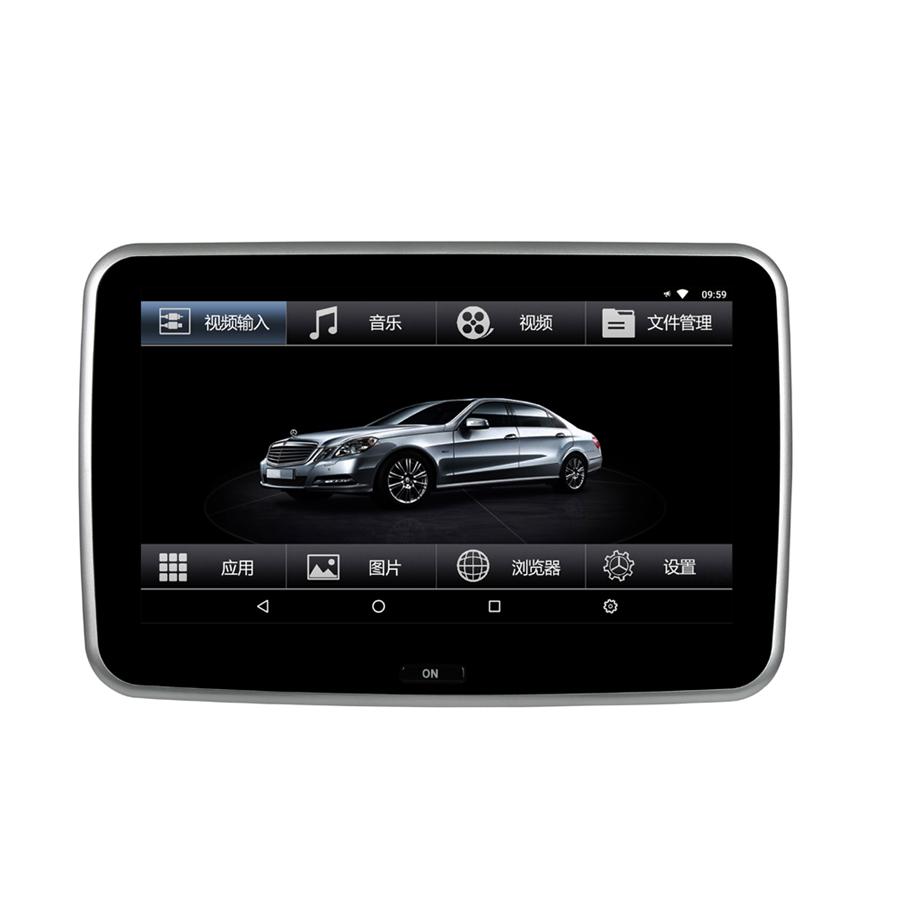 奔驰新E级V260L-C级-S级-GLC后排娱乐系统车载头枕显示屏器