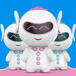 智能陪伴早教机器人儿童语音对话AI人工互动聊天儿歌故事中英文问题解答学生古诗国学男女孩家庭wifi版可充电