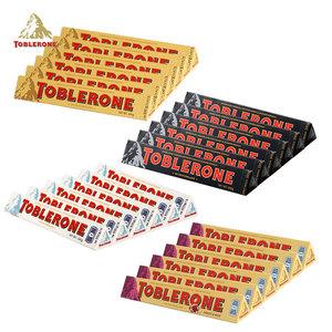 进口零食Toblerone瑞士三角牛奶巧克力100g*6根婚庆喜糖巧克力