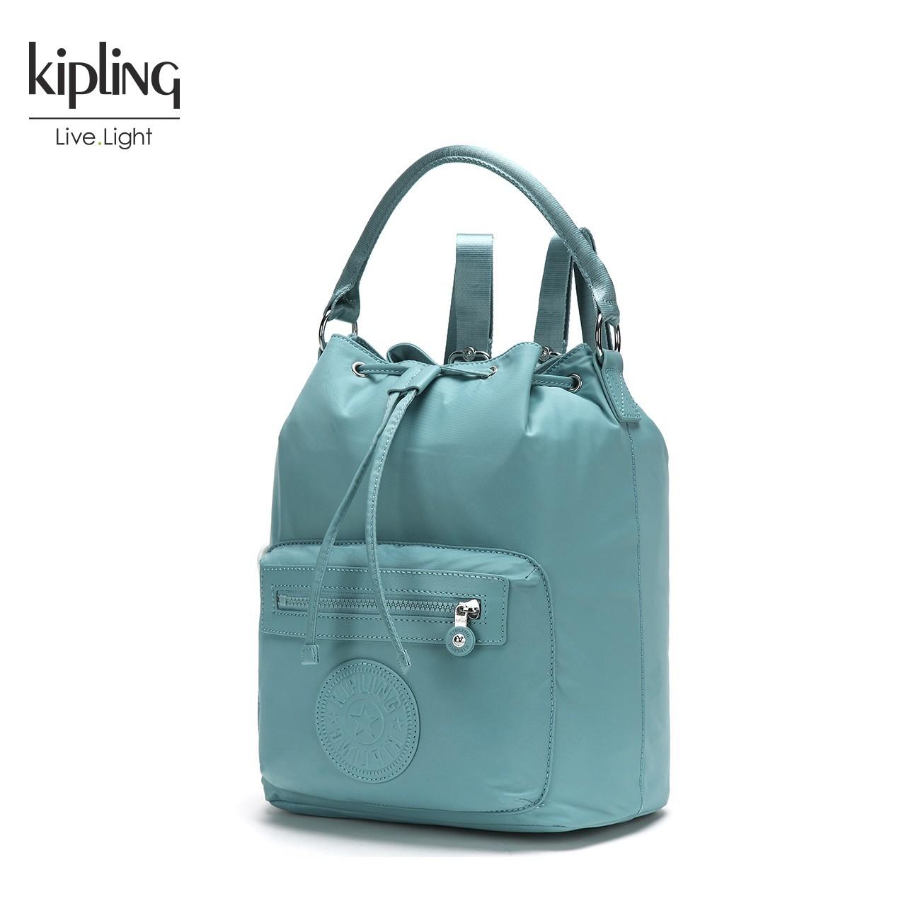 Kipling凯浦林2018新款手提女包K71631简约多用休闲双肩
