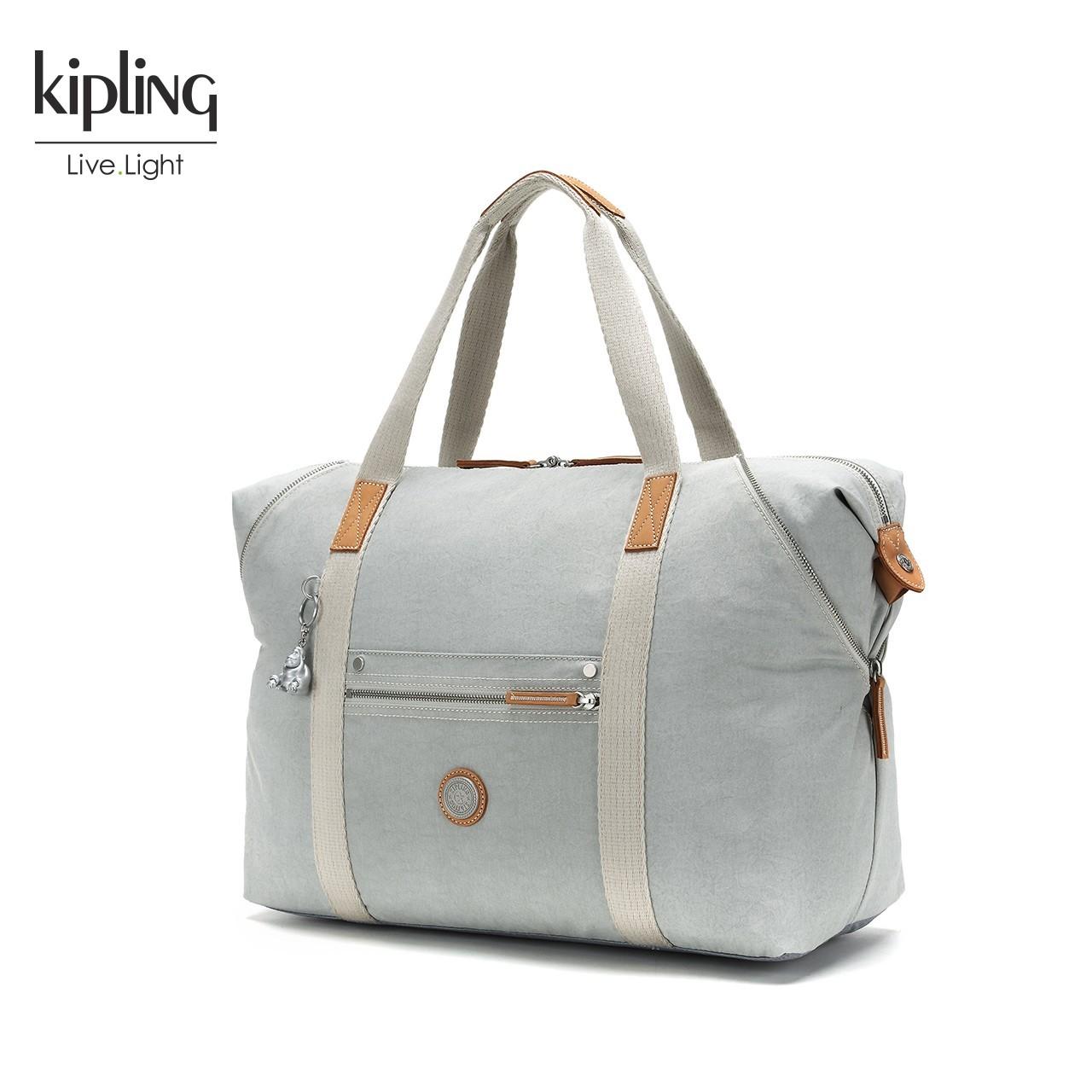 Kipling凯浦林包包女2018新款K20119背提包手拿包单肩包旅行袋