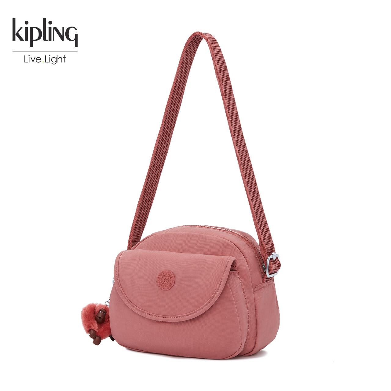 Kipling凯浦林包包女2018秋冬新款背提包可爱斜跨包单肩包