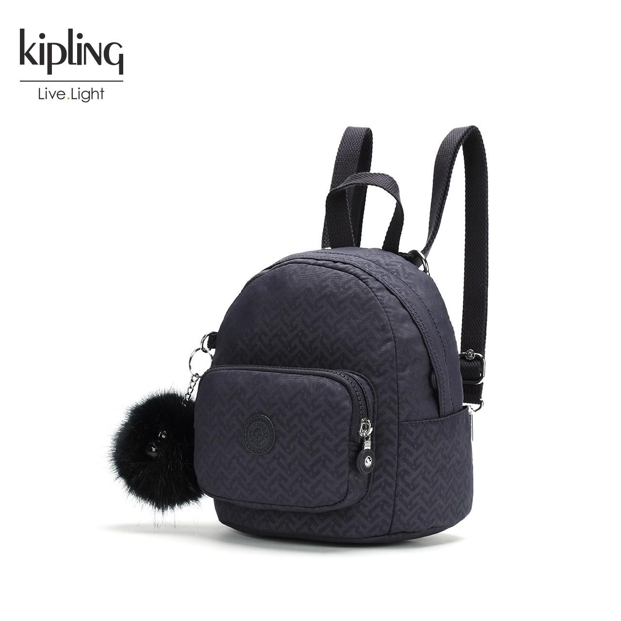 Kipling凯浦林官网包包女2018新款K12682迷你双肩包ins包小巧背包