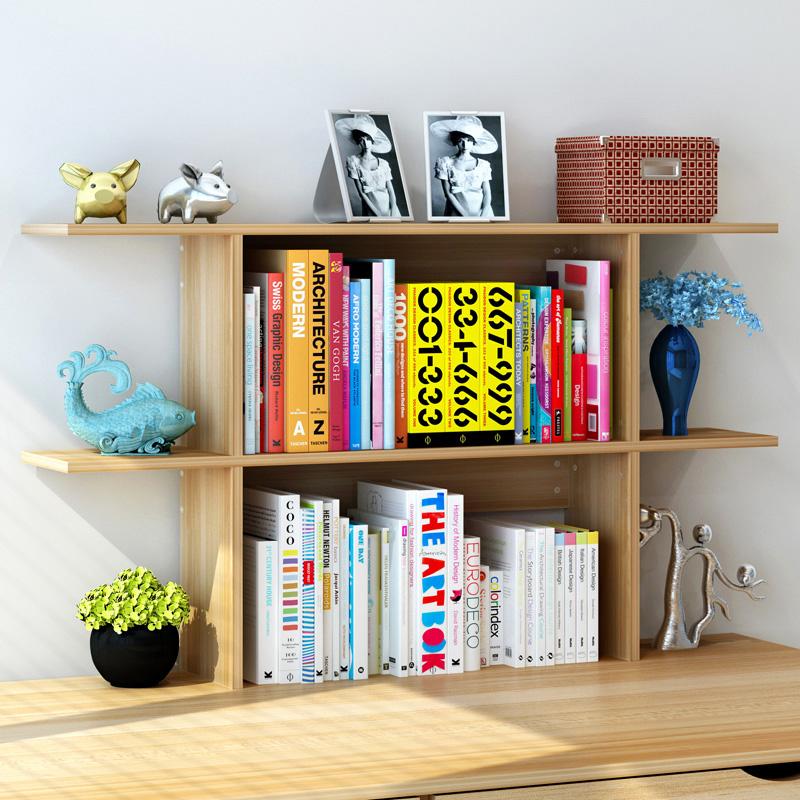 简易桌面置物架 创意书架 桌上置物架书柜学生用省空间收纳小书架