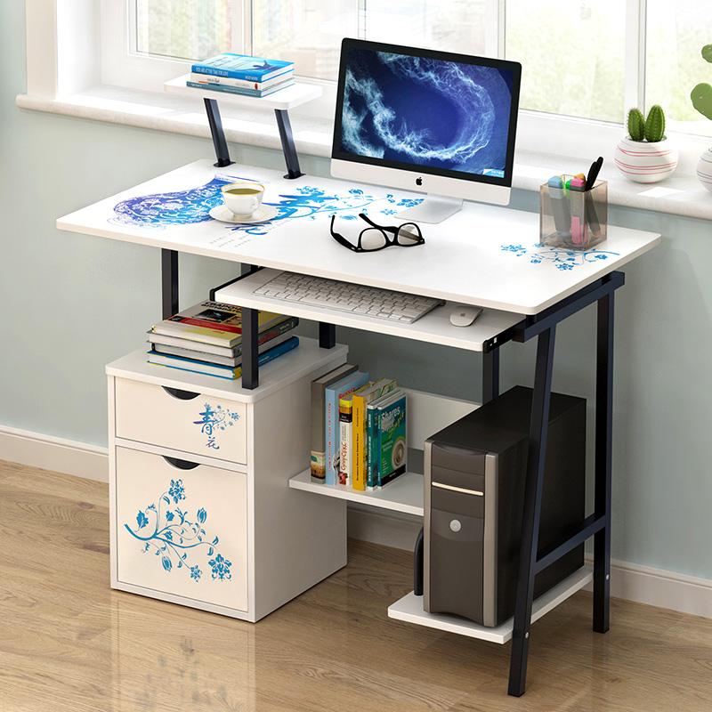 蔓斯菲尔电脑台式桌家用书桌桌子简易桌子简约写字桌写字台小桌子