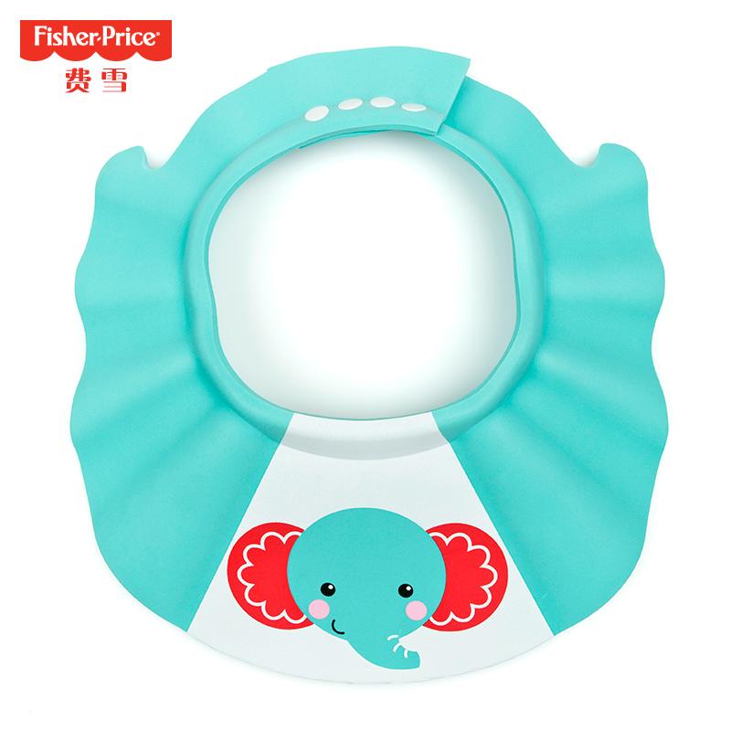费雪宝宝洗头帽防水护耳婴儿童浴帽