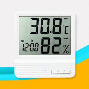 湿度计电子数显闹钟湿度测试