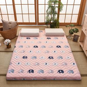 床垫软垫加厚折叠地铺睡垫家用1.2米1.5m床垫被褥子学生宿舍单人