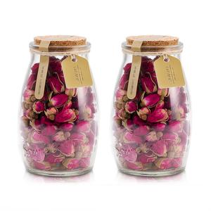 【买1发2】玫瑰花茶干玫瑰平阴玫瑰花茶花草茶花茶茶叶玻璃罐装