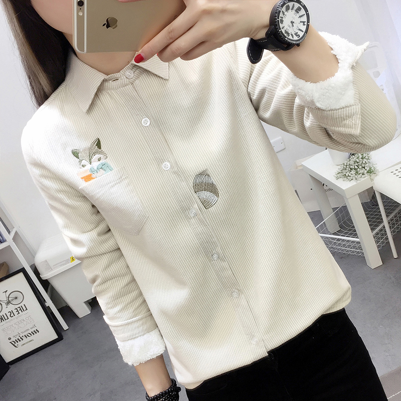 Ladies shirt Qi Pu qp15c9114