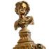 蒂高美居 家居会所高档餐厅创意装饰古典烛台陶瓷工艺品摆件 新