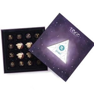 TORO十二星座手工夹心巧克力礼盒装送女友创意七夕情人节生日礼物