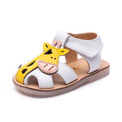 宝宝凉鞋夏季新品1-3岁婴儿鞋子女童小童沙滩软底防滑公主学步鞋2