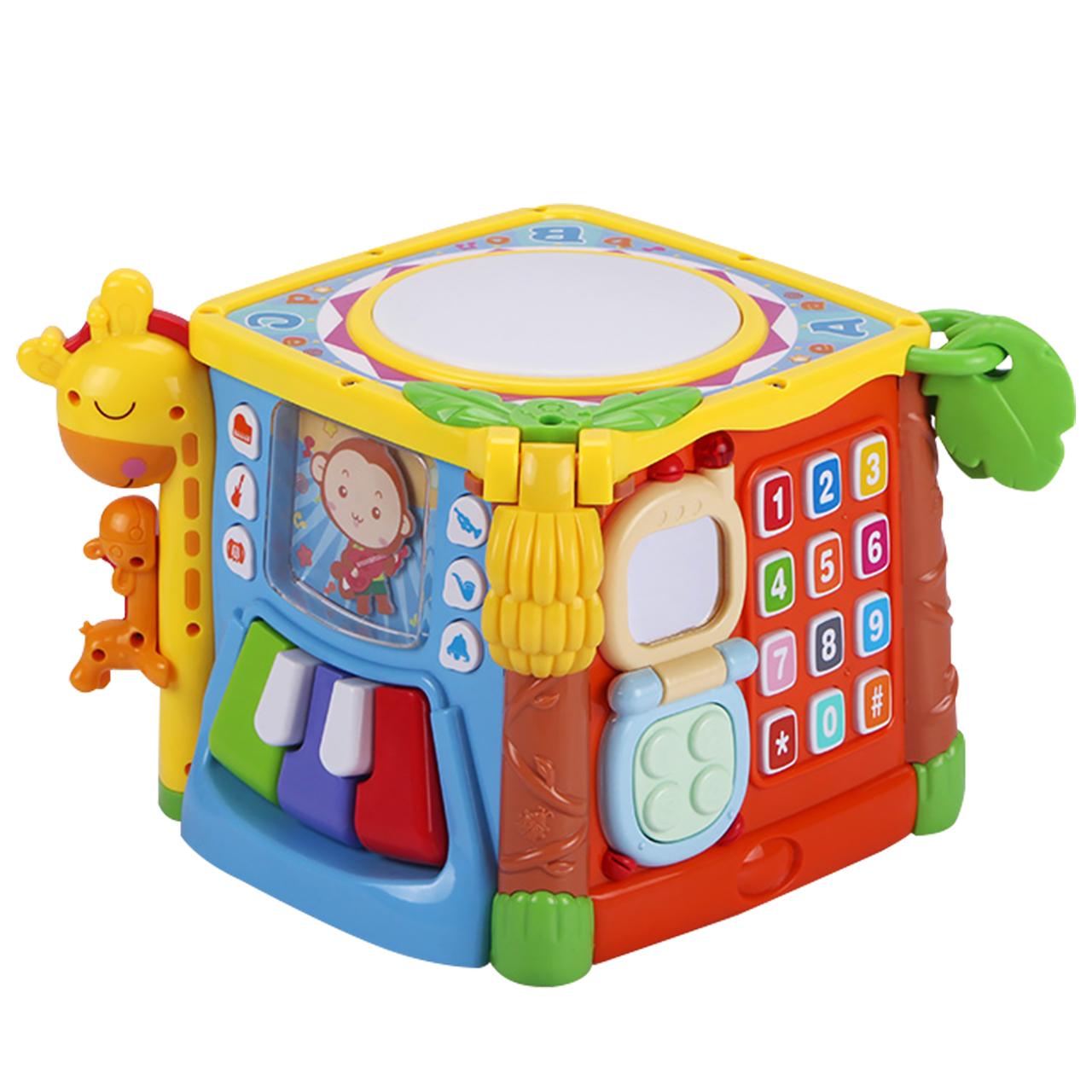 谷雨宝宝手拍鼓益智音乐拍拍鼓7婴儿童6-12个月0-1-3岁男女孩玩具