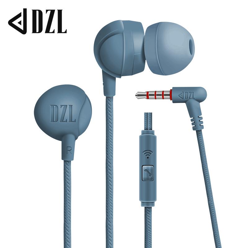 DZL入耳式重低音有线小米耳机通用男女L弯型游戏吃鸡耳麦适用于安卓华为oppo vivo耳塞高音质游戏吃鸡Q1 pro