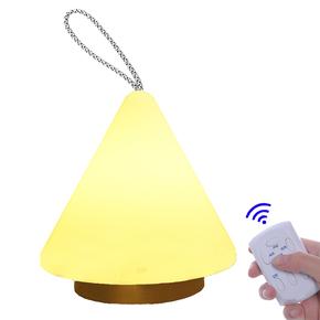 小夜灯充电插电LED台灯卧室床头灯遥控灯