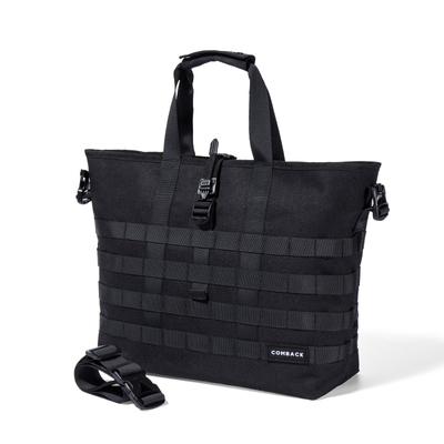 COMBACK原创潮流斜挎包单肩休闲手提包 旅行托特包背包