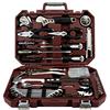 瑞德家用工具组套 五金工具维修电工组合 家庭工具箱车载电钻组合