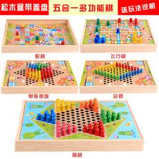 Шахматы и шашки на магните Thousand