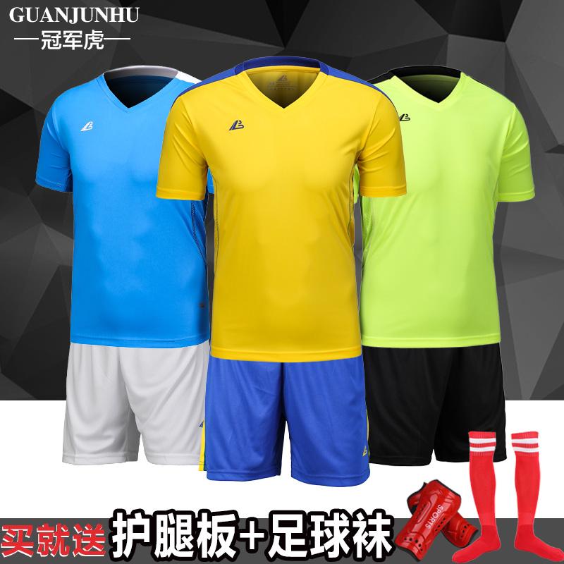 足球服套装 定制队服足球衣 男款足球训练服 15-16足球衣短袖队服产品展示图4