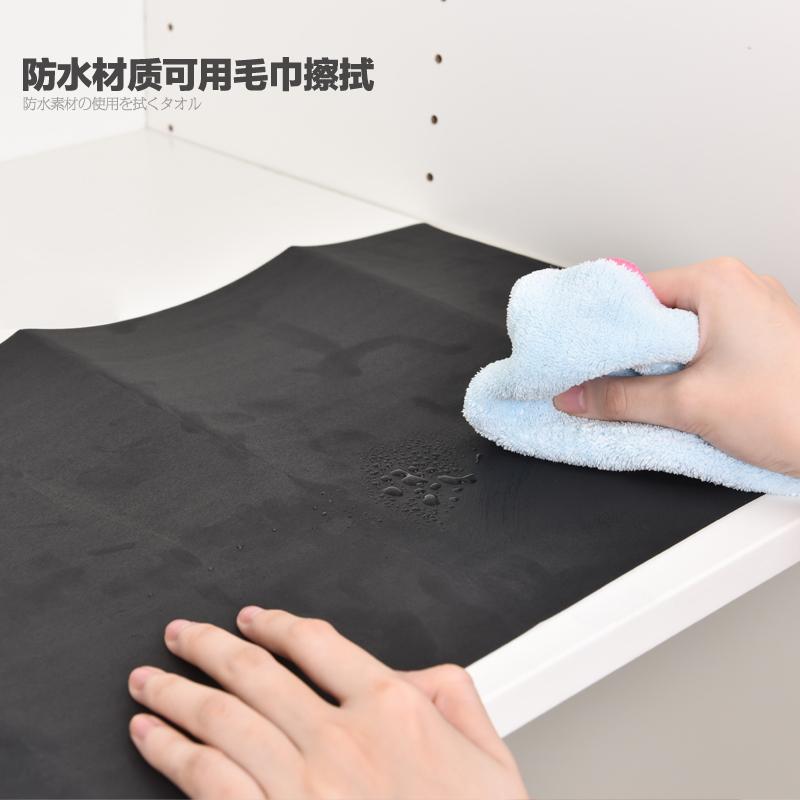 日本进口抽屉垫鞋柜专用吸味垫可裁剪防潮垫除臭垫防水除霉垫子