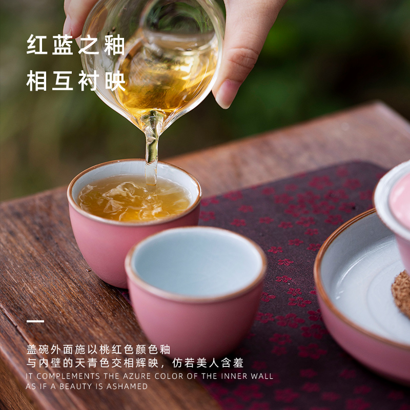 Mount your up with color glaze ru up market metrix who informs the cups of jingdezhen ceramic cup single sample tea cup kung fu tea set