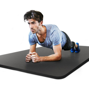 【领券24.8元】瑜伽垫加厚初学者男健身加宽加长防滑瑜珈垫三件套