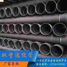 PE管黑色塑料管增强建材水管波纹管 2016直销 管材配件基础钢带