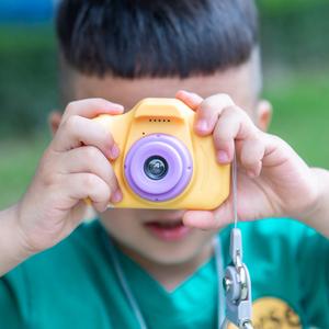 菠萝树儿童相机玩具可拍照数码照相机宝宝迷你摄影小单反