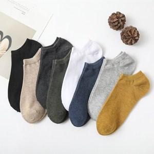 袜子男士短袜船袜夏季薄款防臭低帮浅口韩版潮流床袜硅胶防滑隐形