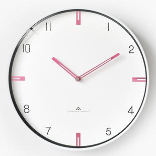 现代简约大气钟表客厅挂墙挂钟创意个性时尚家用挂表美式轻奢时钟