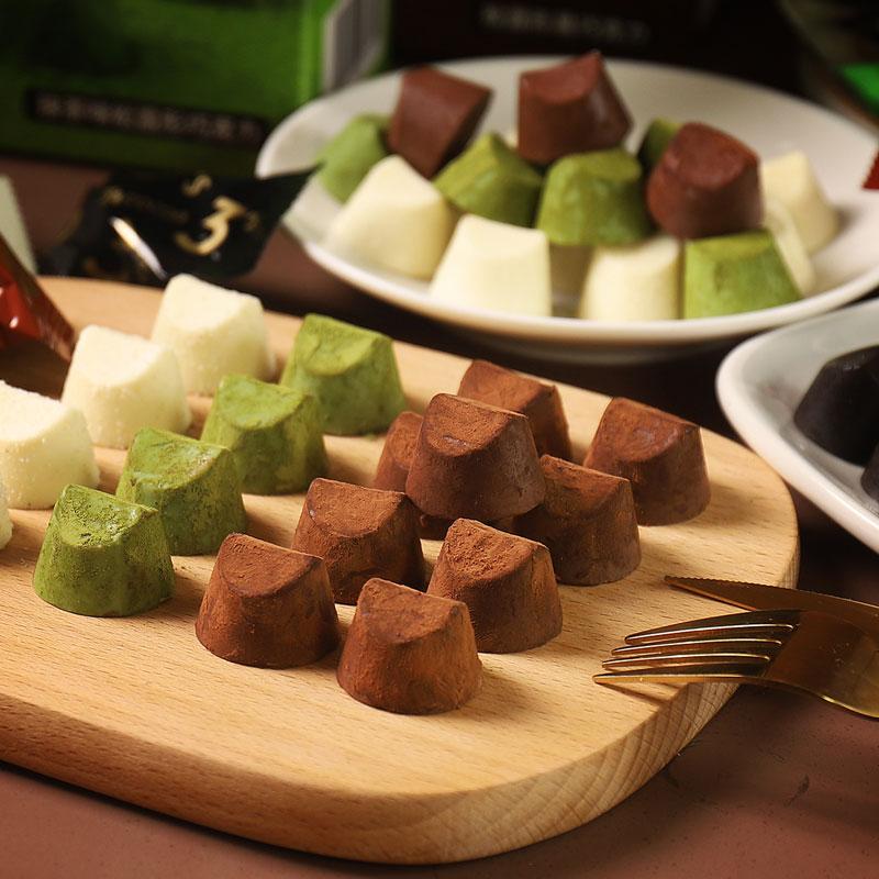 【迷语】手工松露黑巧克力