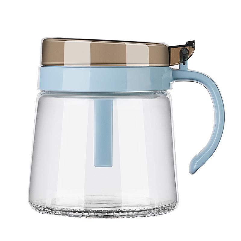 苏泊尔调料罐玻璃盐罐厨房调味罐子家用糖罐味精瓶油壶调料盒套装