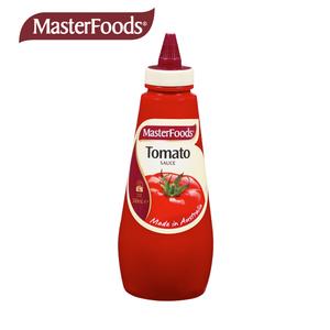 MasterFoods每食富番茄酱澳洲进口挤压瓶家用意面商用蘸酱500ml