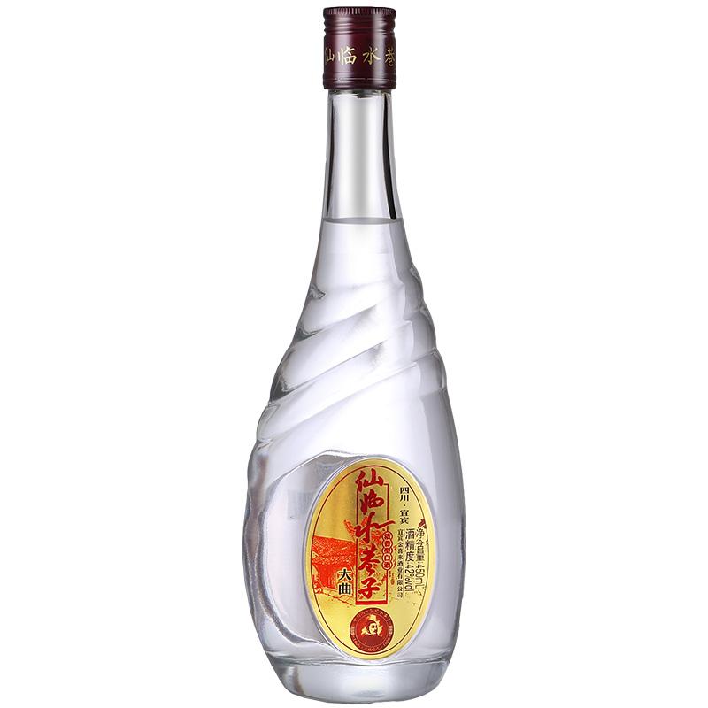 金喜来国产白酒浓香纯粮水巷子大曲42度450ml特价3年老酒摆地摊