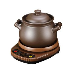 紫砂煲汤锅家用陶瓷炖锅电砂锅全自动熬粥煲粥神器插电用多功能锅