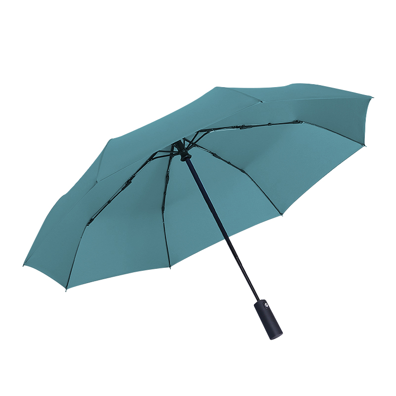 虾选全自动雨伞男女通用折叠伞森系复古简约纯色伞