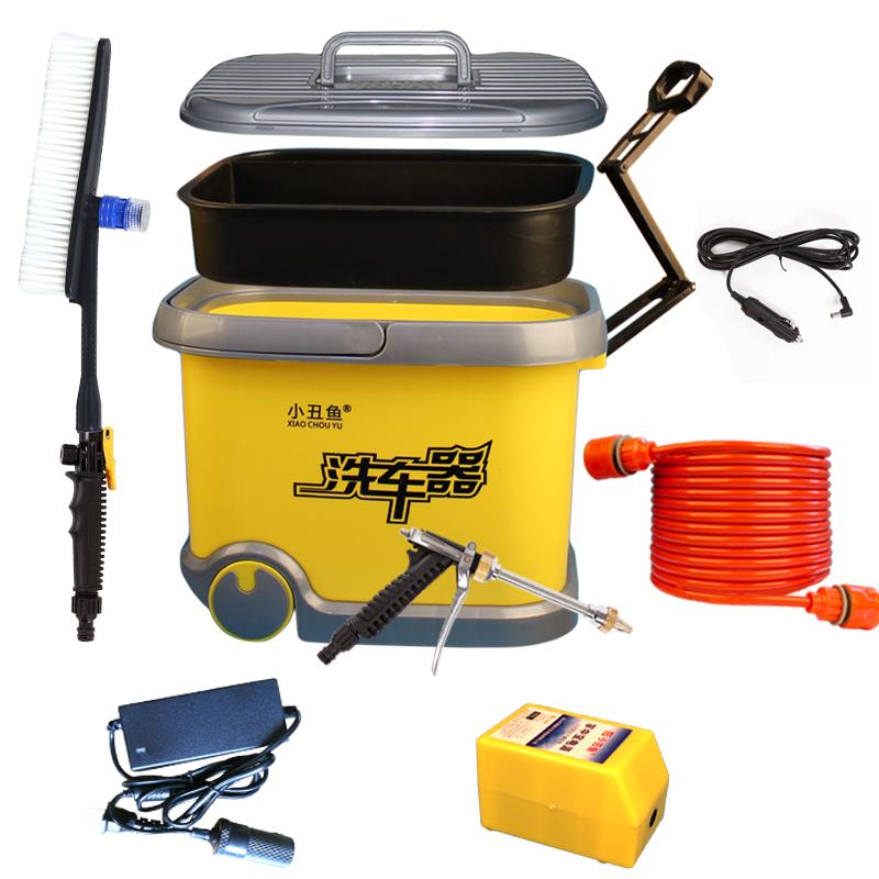 洗车器神器高压家用车载电动便携充电式12v刷车机水泵水枪全自动